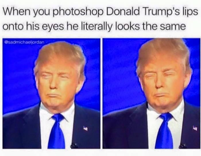 Donald Trump's Lips!