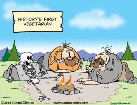History's First Vegetarian