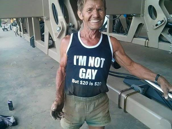 Not Gay, But...