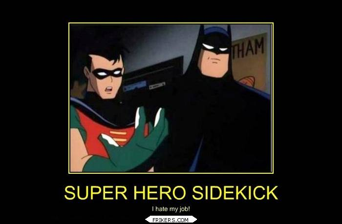 Super Hero Sidekick