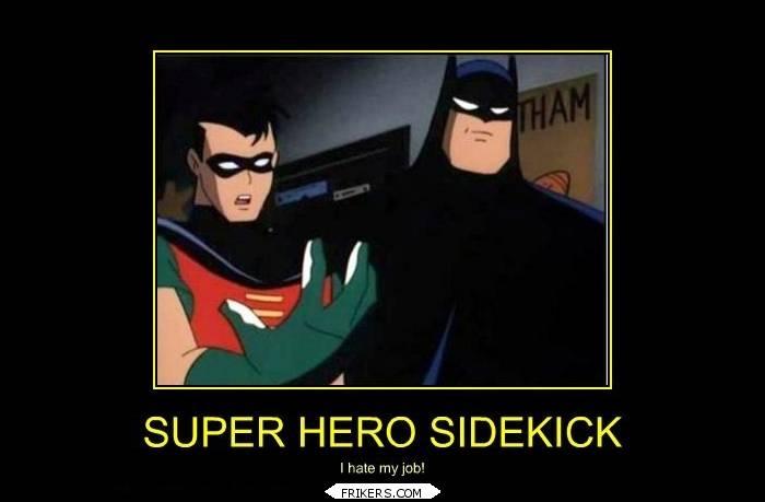 Super Hero Sidekick